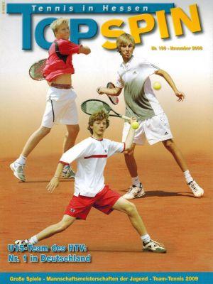 Titelfoto Topspin Nr. 190/2008