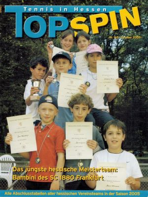 Titelfoto Topspin Nr. 165/2005