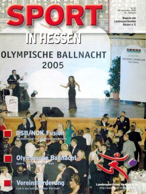Titelfoto Sport in Hessen Nr. 22/2005