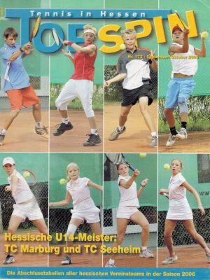 Titelfoto Topspin Nr. 173/2006
