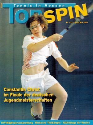 Titelfotos Topspin Nr. 177/2007