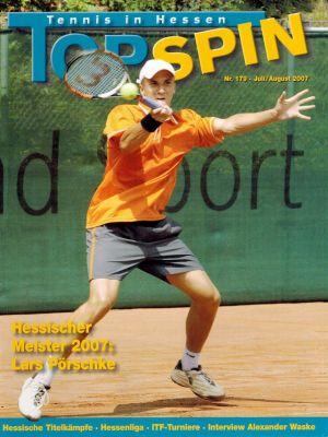 Titelfoto Topspin Nr. 179/2007