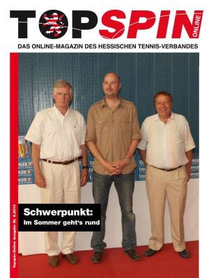 Titelfoto Topspin Online Nr. 05/2010