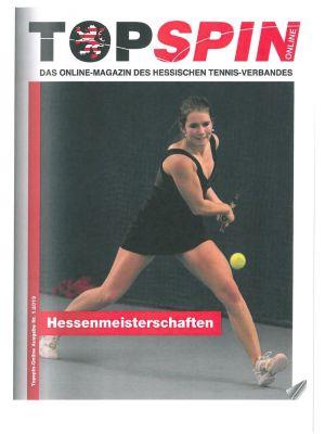 Titelfoto Topspin Online Nr. 01/2013
