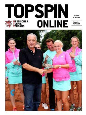 Titelfoto Topspin Online Nr. 07/2018